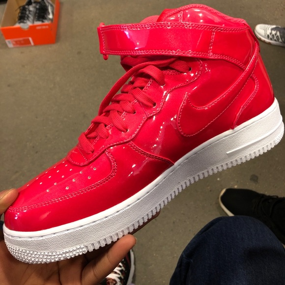 Nike Shoes Air Force 1 Lv8 Ultraviolet Red Poshmark